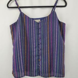 Maison jules tank with adjustable straps NWT